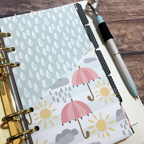 Sunshine and Rainbows ver 1 - Planner Folder