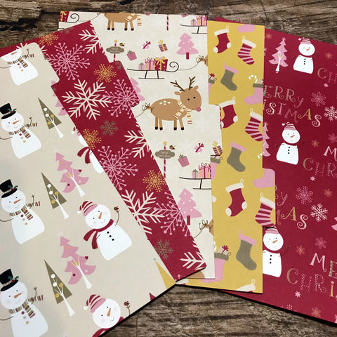 Warm Winter Set of 5 Planner Dividers-Planner Dividers-My Pretty Week