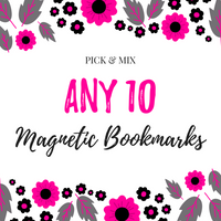 Pick & Mix Magnetic Bookmarks (10)-Pick & Mix Bookmarks-My Pretty Week