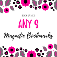Pick & Mix Magnetic Bookmarks (9)-Pick & Mix Bookmarks-My Pretty Week