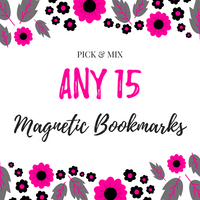 Pick & Mix Magnetic Bookmarks (15)-Pick & Mix Bookmarks-My Pretty Week