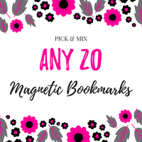 Pick & Mix Magnetic Bookmarks (20)-Pick & Mix Bookmarks-My Pretty Week