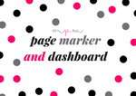 Planner Dashboard and/or Page Marker-Planner Dashboard-My Pretty Week