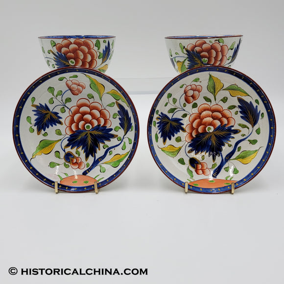 Pair of Antique Ceramic