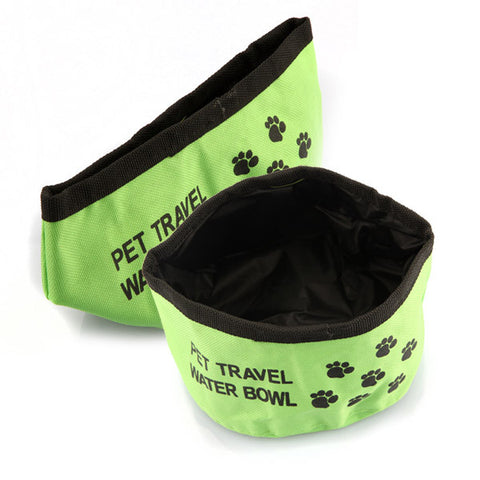 Dog Cat Water Food Travel Bowl - ForHappyPets.com