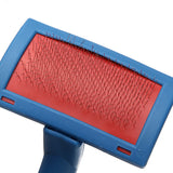 Pet Hair Shedding Brush With Comb Tool