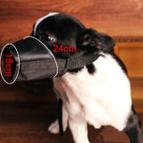 Adjustable Safety Pet Dog Mouth Set Nylon Muzzle Size L - ForHappyPets.com