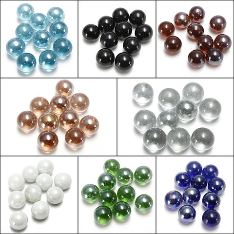 10 Pcs Fish Tank Glass Marbles 16mm Balls - ForHappyPets.com