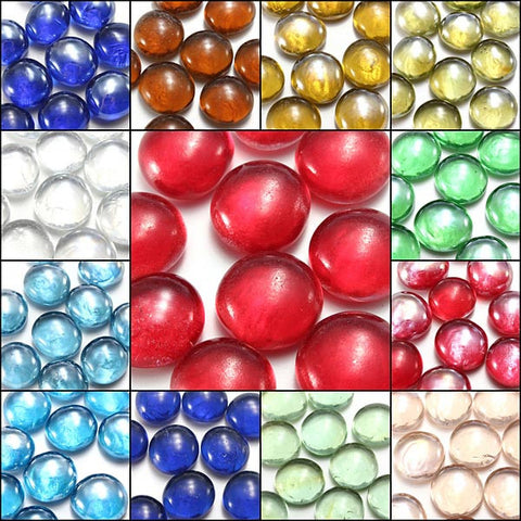 10 Pcs Fish Tank Glass Marbles 14mm Balls - ForHappyPets.com