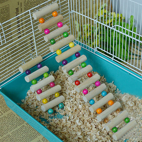 Pet Hamster Ladder Hanging Bridge