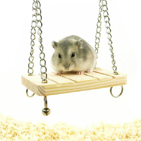 Suspension Bell Swing Hanging For Cage - ForHappyPets.com