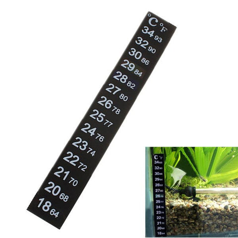 Aquarium Thermometer Sticker - ForHappyPets.com