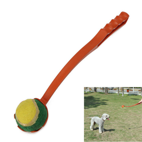 Dog Training Ball Thrower Launcher - ForHappyPets.com