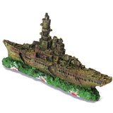 Amazing Navy Boat Wreck Ornament - ForHappyPets.com