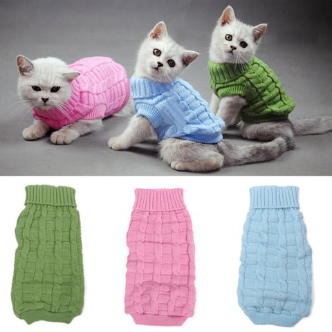 Warm Winter Outwear For Cat Dog
