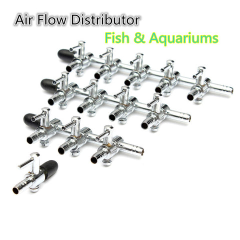 Air Flow Control Distributor Aquarium Lever Pump Valve - ForHappyPets.com