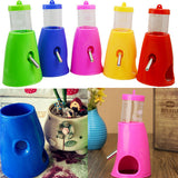 Perfect Hamsters Water Bottle Holder Dispenser With Base - ForHappyPets.com