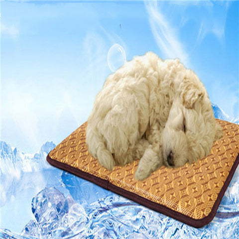 Cooling Dog Pad For Sitting Sleeping - ForHappyPets.com