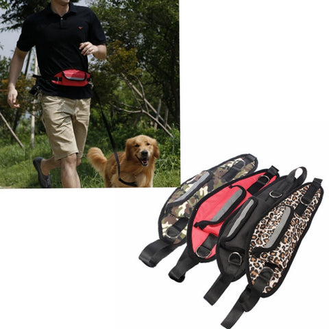 Amazing Handsfree Leash Rope And Bag For Dog - ForHappyPets.com