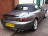 honda s2000 factory fitted boot spoiler ap2 2004 2009 dustpro car cover