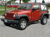 Jeep Wrangler YJ, TJ & JK (3 door) 1987 onwards Half Size Car Cover