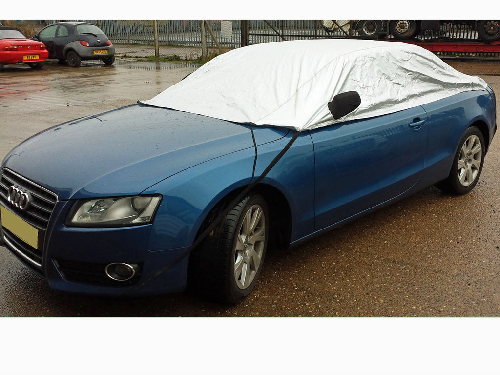 Audi A Coupe Convertible Onwards Half Size Car Cover - Audi a5 car cover
