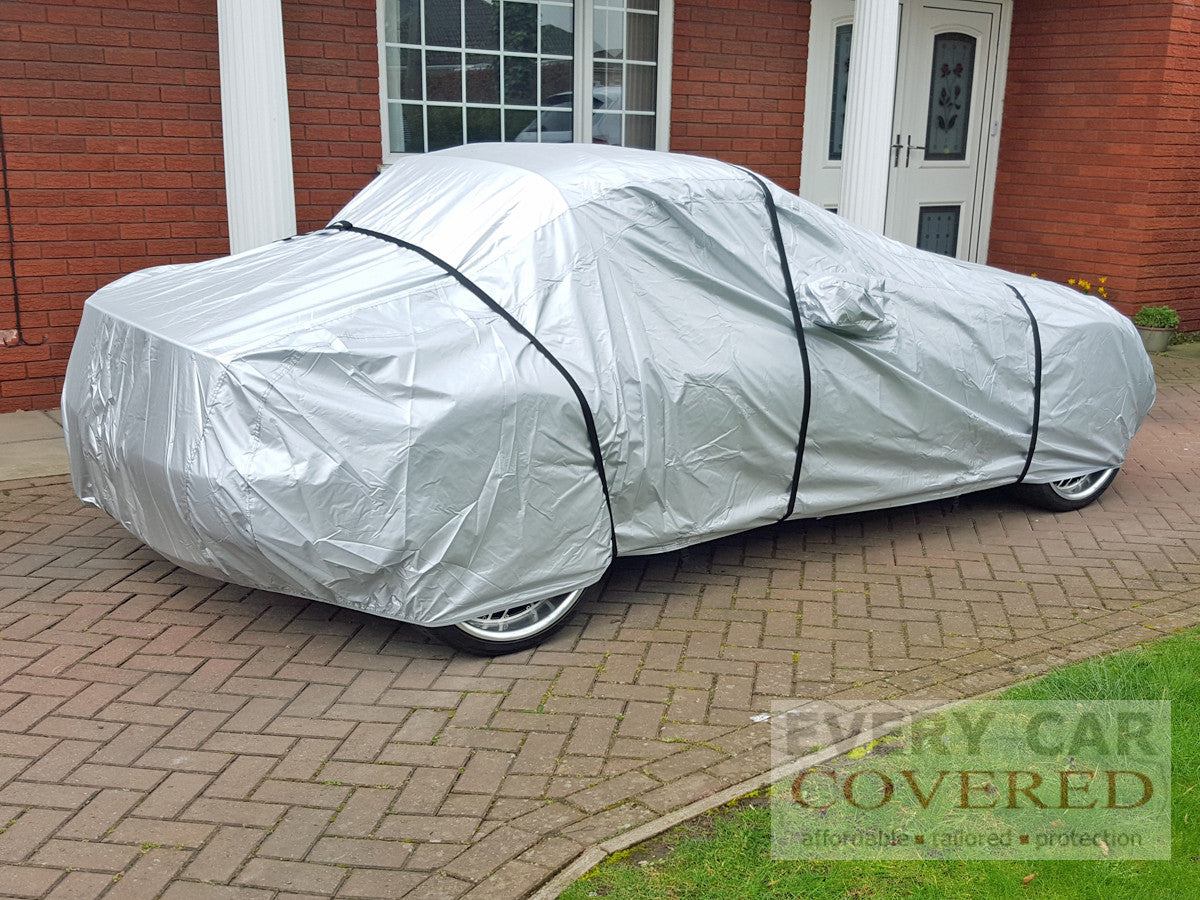 2 x 5.7 and 1 x 7.5 Meters long Additional strap kit x 3 Car Cover Straps