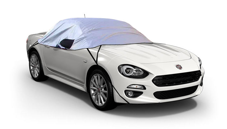 Fiat 124 Spider 2016-onwards Inc Abarth 1995 - 2005 Half Size Car Cover