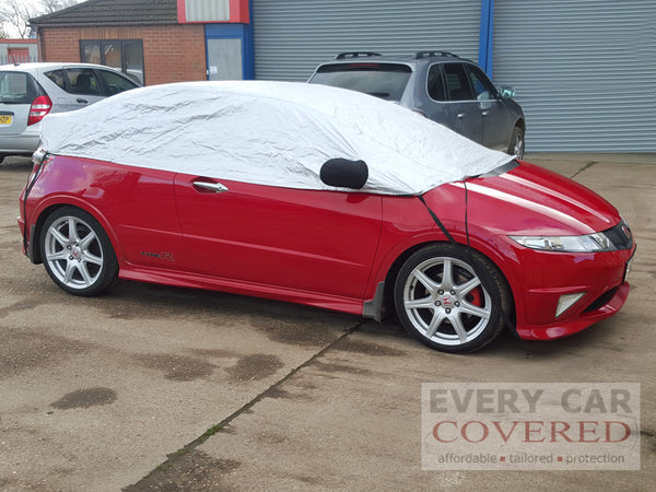 Honda Civic and Type R 2001 - 2011 Half Size Car Cover