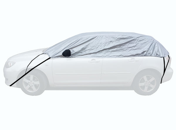 Ford Fiesta Fiesta Mk7 with roof spoiler 2008-2017 Half Size Car Cover