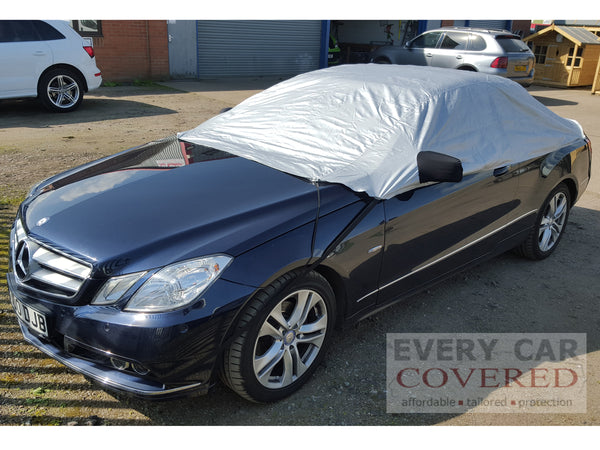 Mercedes E Class E220-E500 Coupe / Convertible (W207) 2009-onwards Half Size Car Cover