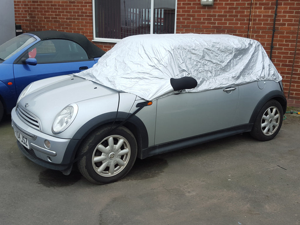 BMW Mini One, Cooper, Cooper S Hatch (Gen 1 & 2) R50, R53, R56 2001-2014 Half Size Car Cover