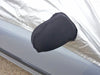 Porsche 930 (911) fixed rear spoiler ( Whaletail) 1975 - 1989 Half Size Car Cover