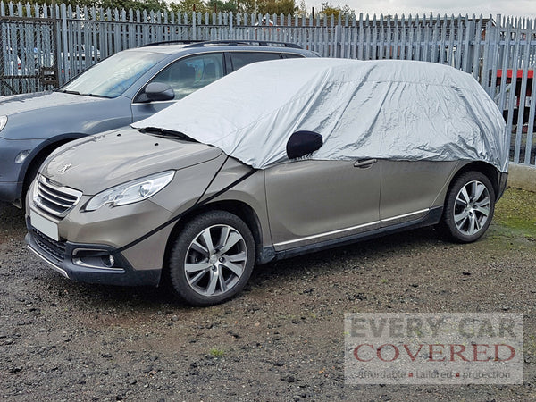 Peugeot 2008 2013 onwards Half Size Car Cover