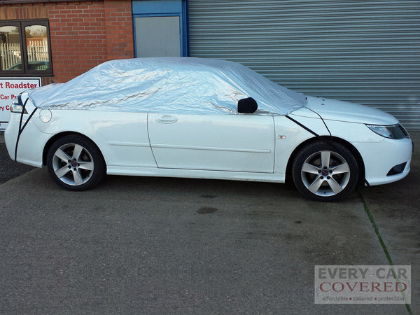 Saab 9-3 & Convertible 1998 onwards Half Size Car Cover