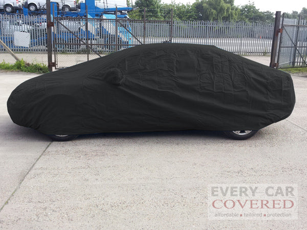 mercedes 190 cosworth 2 3 16 evo with large boot spoiler w201 1982 1993 dustpro car cover