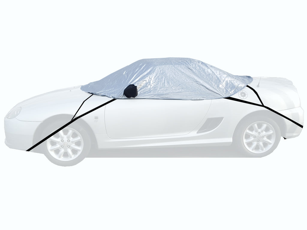 Toyota MR2 Mk2 with factory boot spoiler 1989 - 1999 Half Size Car Cover