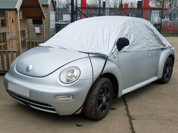 on Half Size Car Cover VW Volkswagen Polo 2002