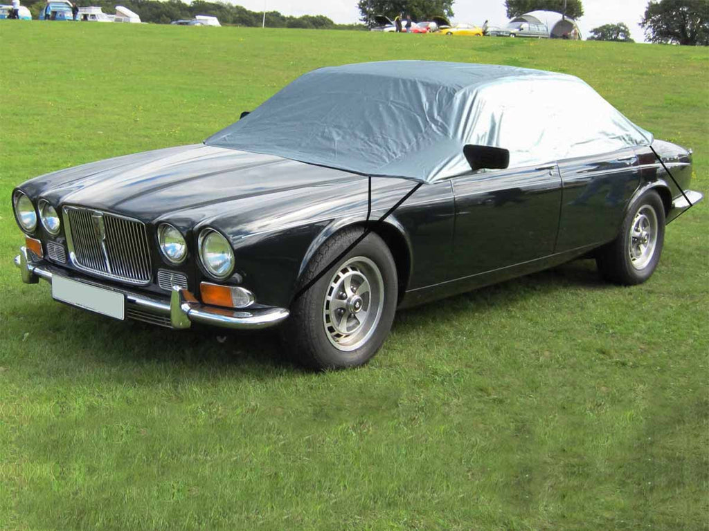 Jaguar XJ6 Series 2 LWB (XJ6L) 1973 - 1979 Half Size Car Cover