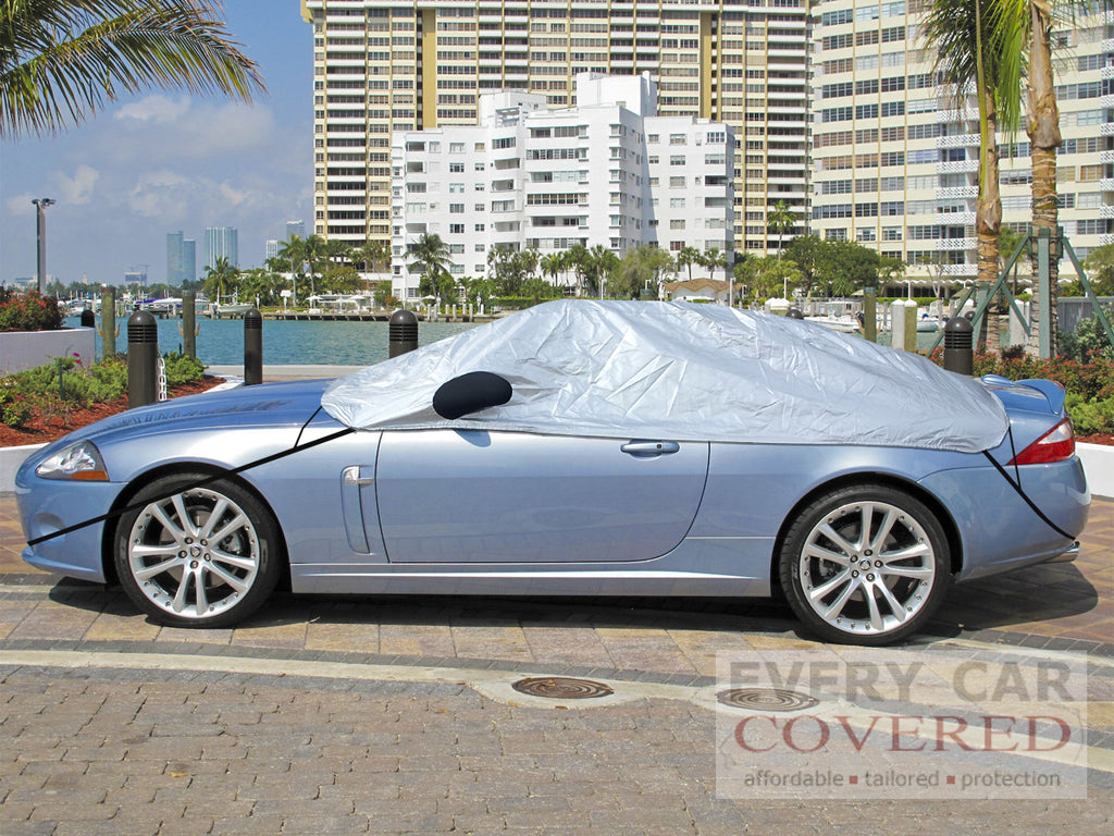 Jaguar XK, XKR Coupe and Convertible 2006 onwards Half Size Car Cover