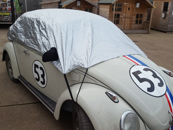 Volkswagen Beetle & Super Beetle 1975 - 1999 Half Size Car Cover