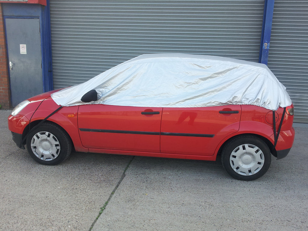Ford Fiesta Mk5 Mk6 (includes ST) 2002 - 2008 Half Size Car Cover