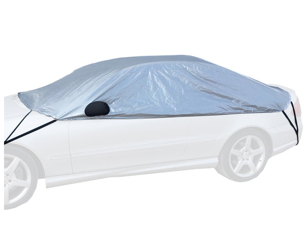 Mercedes 190 Cosworth 2.3 - 16 Evo with large boot spoiler (W201) 1982 - 1993 Half Size Car Cover