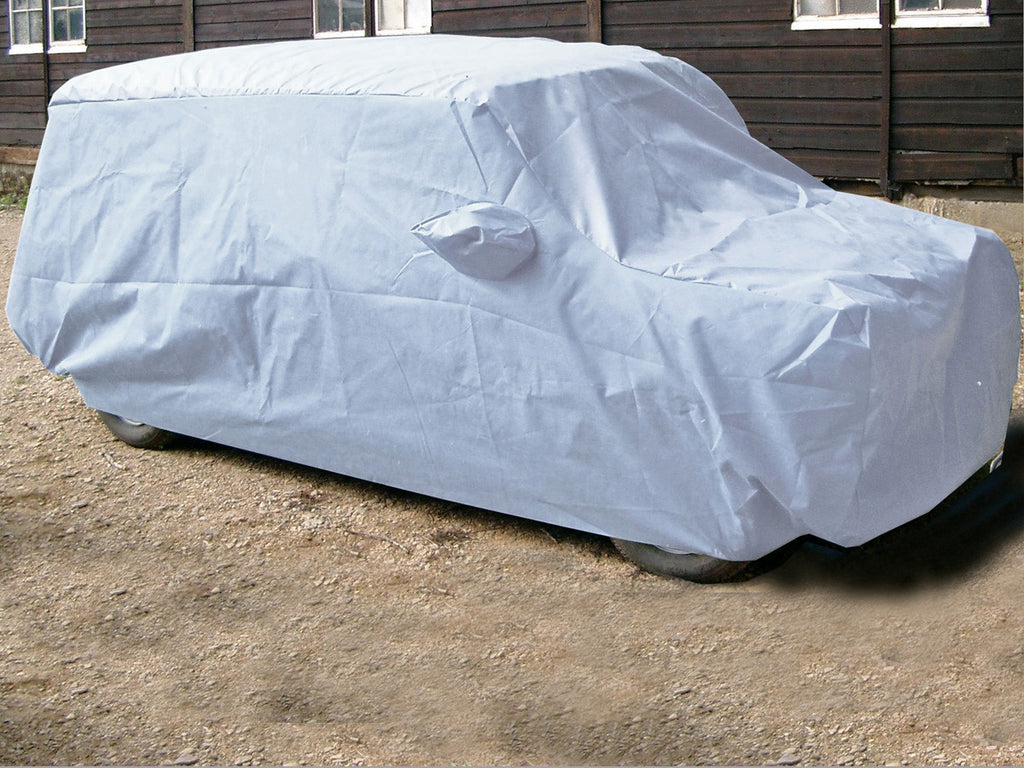 morris mini countryman van estate 1961 1980 summerpro car cover