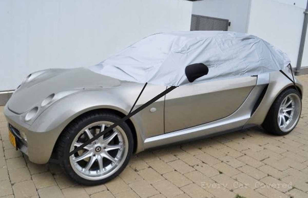 Smart Roadster & Coupe 2003 - 2005 Half Size Car Cover