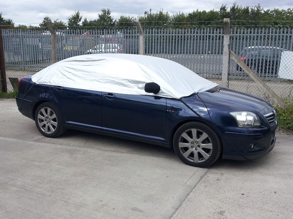 Toyota Avensis Saloon 2003 onwards Half Size Car Cover