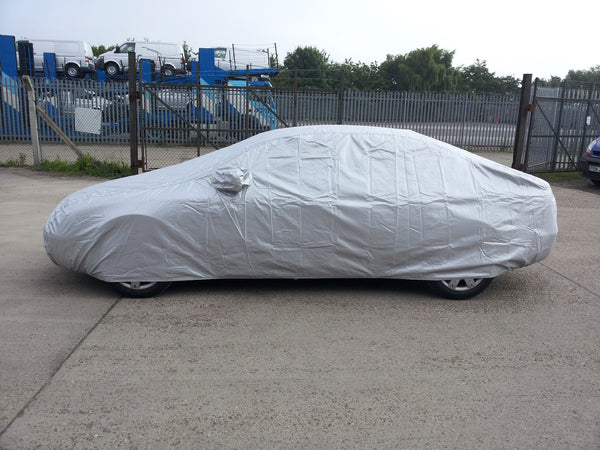 mercedes 190 cosworth 2 3 16 evo with large boot spoiler w201 1982 1993 summerpro car cover