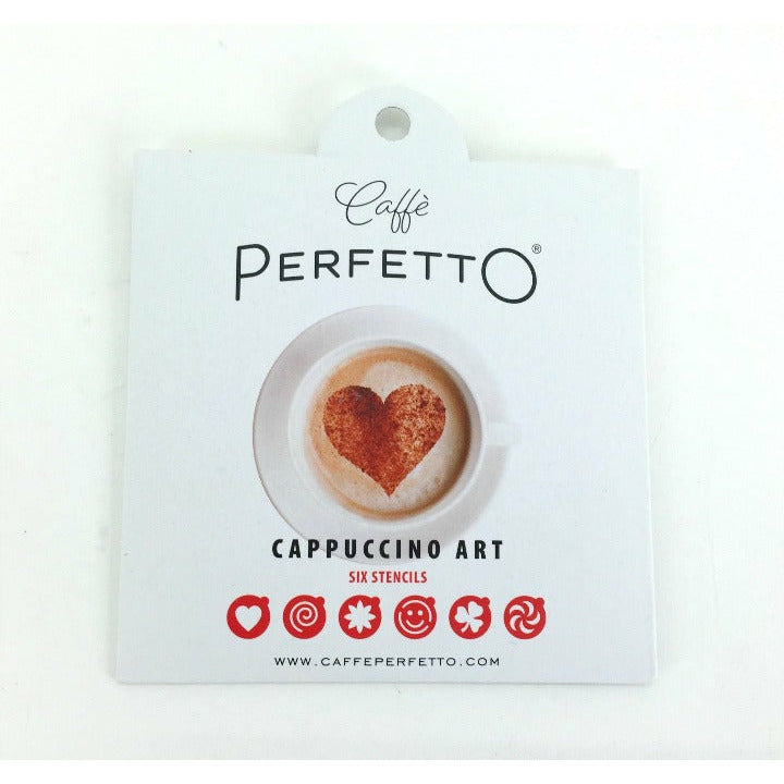 ART STENCILS - Caffè Perfetto Accessories-Coffee Capsules