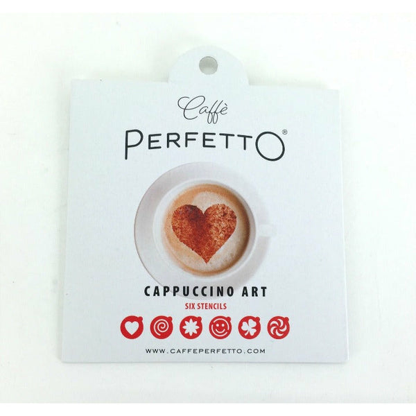 Cappuccino art, Stencils - Caffè Perfetto Accessories-Coffee Capsules