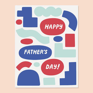 FATHER'S DAY SHAPES CARD